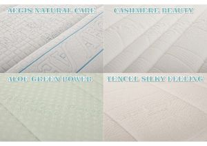 Materac lateksowy Hevea Air Air 200/140 Cashmere Beauty - 590160210142CB