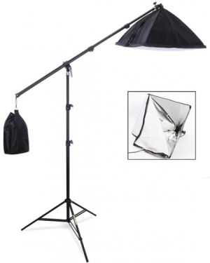 Mini studio fotograficzne - lampa softbox 40x40cm