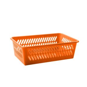 Koszyk Monika  25,5 x 16 cm  mix kolor fiolet, róż, orange Tadar