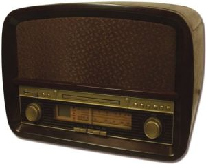 Radio,gramofon retro (CD, MP3, USB) Camry