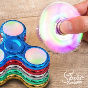 Fidget Spinner - Chrome LED