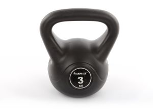Kettlebell do ćwiczeń 3 kg, kettle