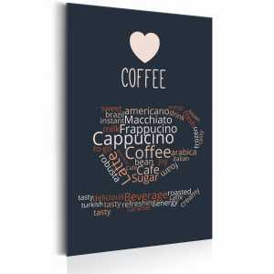 Plakat metalowy - Coffee Lovers: Coffee of the Day [Allplate]