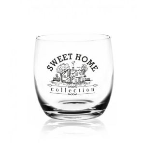 Komplet Szklanek Whisky 6 szt SWEET HOME  260ml