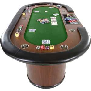 Stół do pokera XXL ROYAL FLUSH 213 x 106 - Stół pokerowy