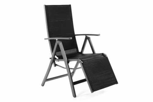 Leżak Ogrodowy Składany Krzesło Ogrodowe Regulowane