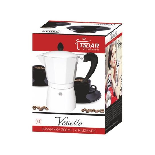 kafetera venetto white 300 ml