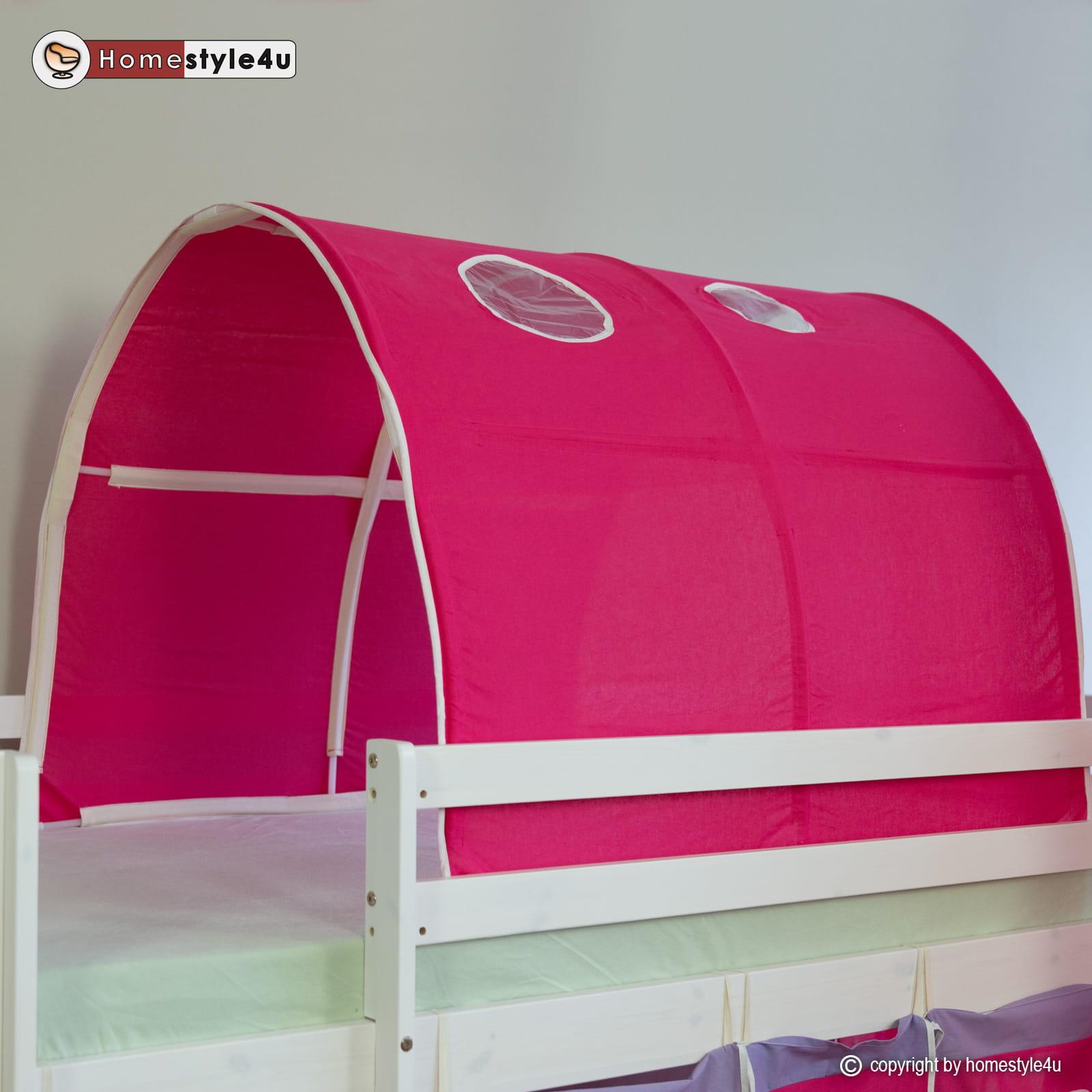 Tunel W Kolorze Ciemnego Różu Tunel Na łóżko Dziecięce