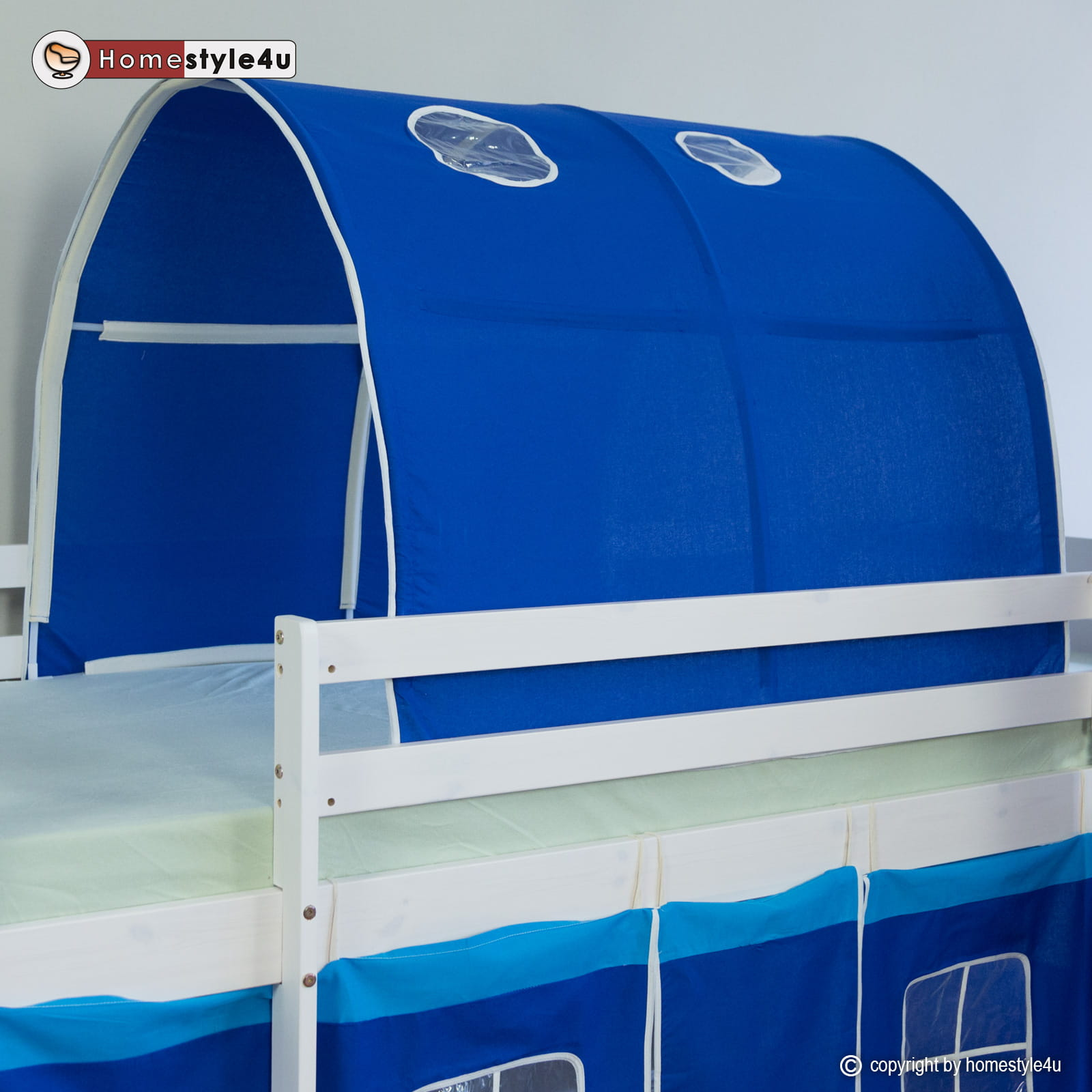 Tunel Namiot Do Zabawy Kolor Niebieski