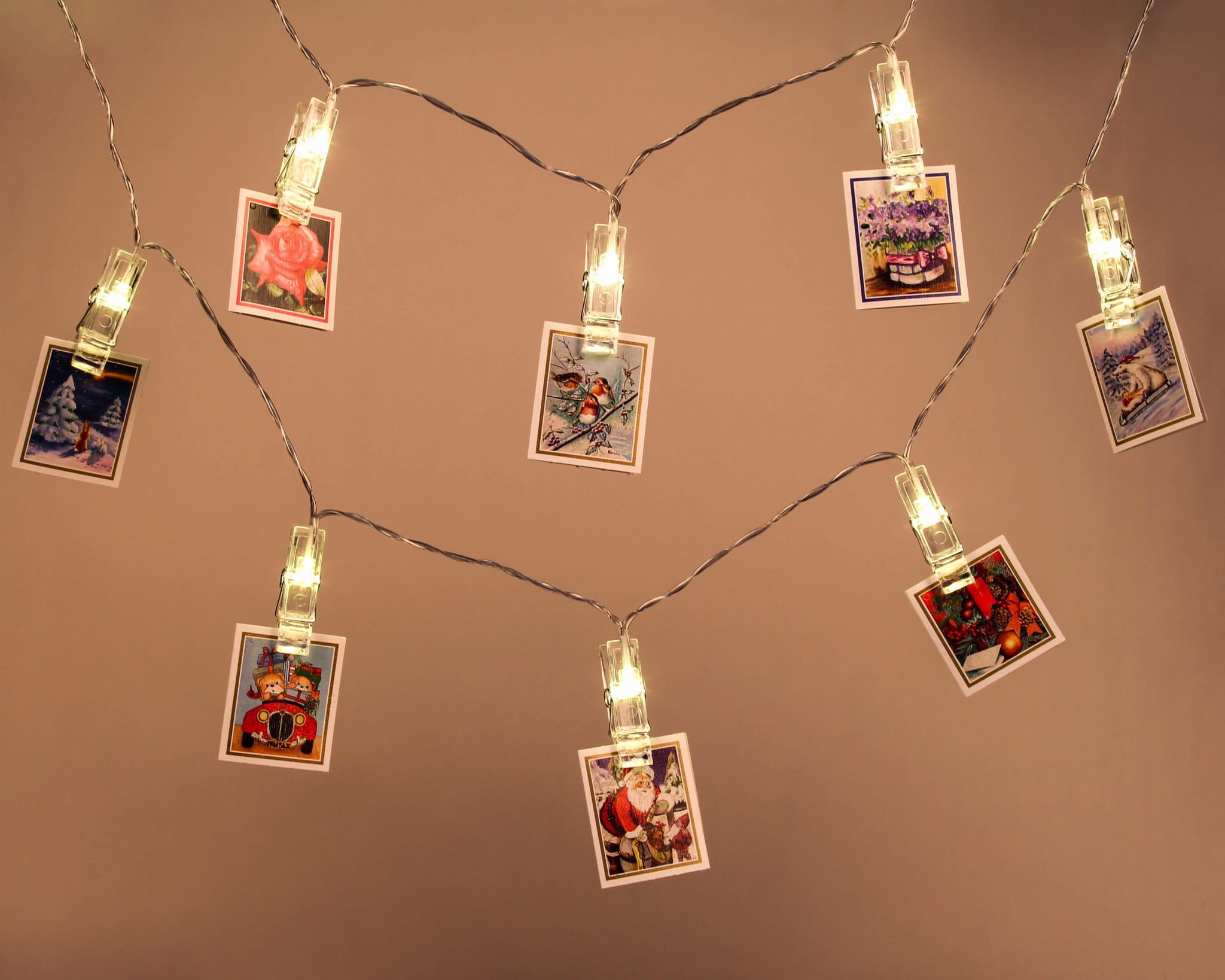 Lampki Dekoracyjne Klamerki 40 Led Z Programatorem 8 Funkcji Joylight