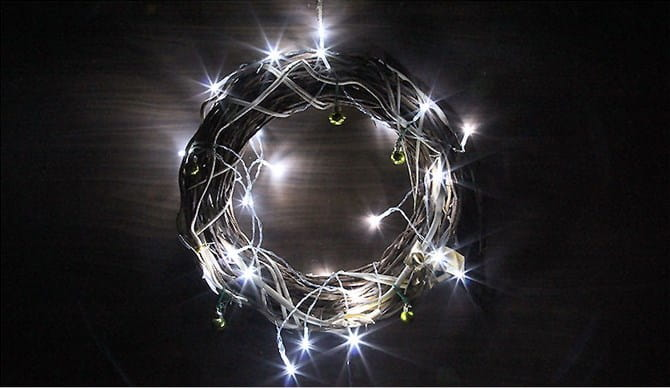Lampki świąteczne Choinkowe Joylight 30 Led Zimne Białe