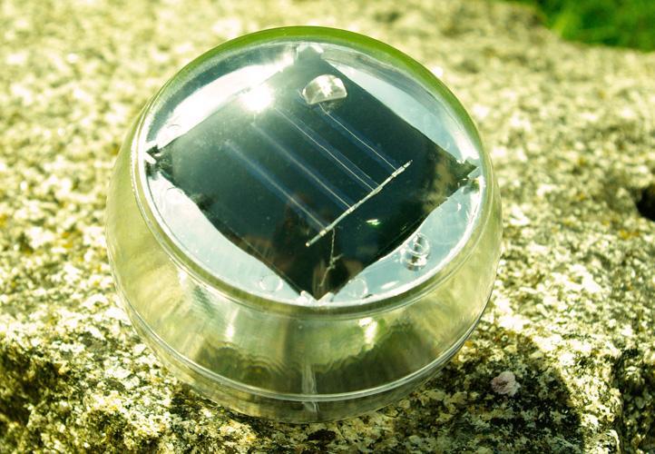 Lampa Solarna Led 5 Sztuk W Kształcie Kul Zestaw