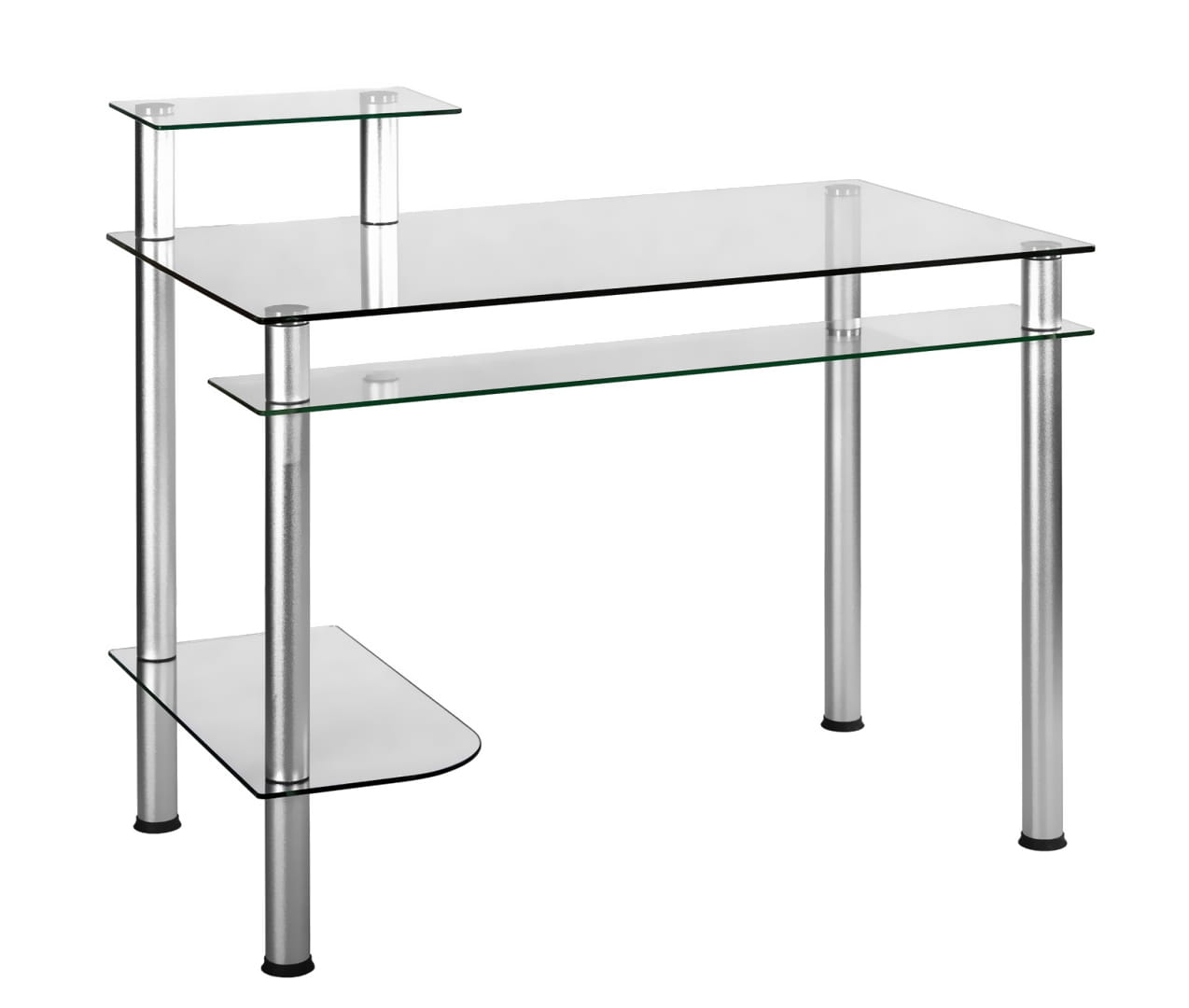 Biurko Komputerowe Szklane Pod Komputer