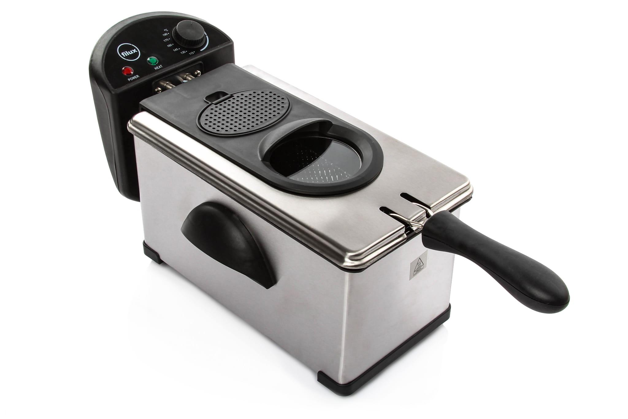 Bardzo dobra Frytkownica 3L frytownica smażalnia filtr regulacja temperatury PW98