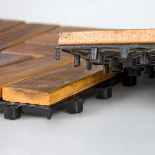 Płytka Tarasowa Drewniana 30 X 30 X 24 Cm Stilista
