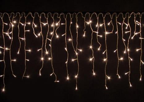 Lampki Wiszące Zewnętrzne 200 Led Ciepłe Białe