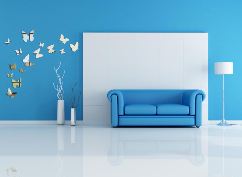 Dekoracyjne Lustrzane Motylki 3d Na ścianę Motylki1