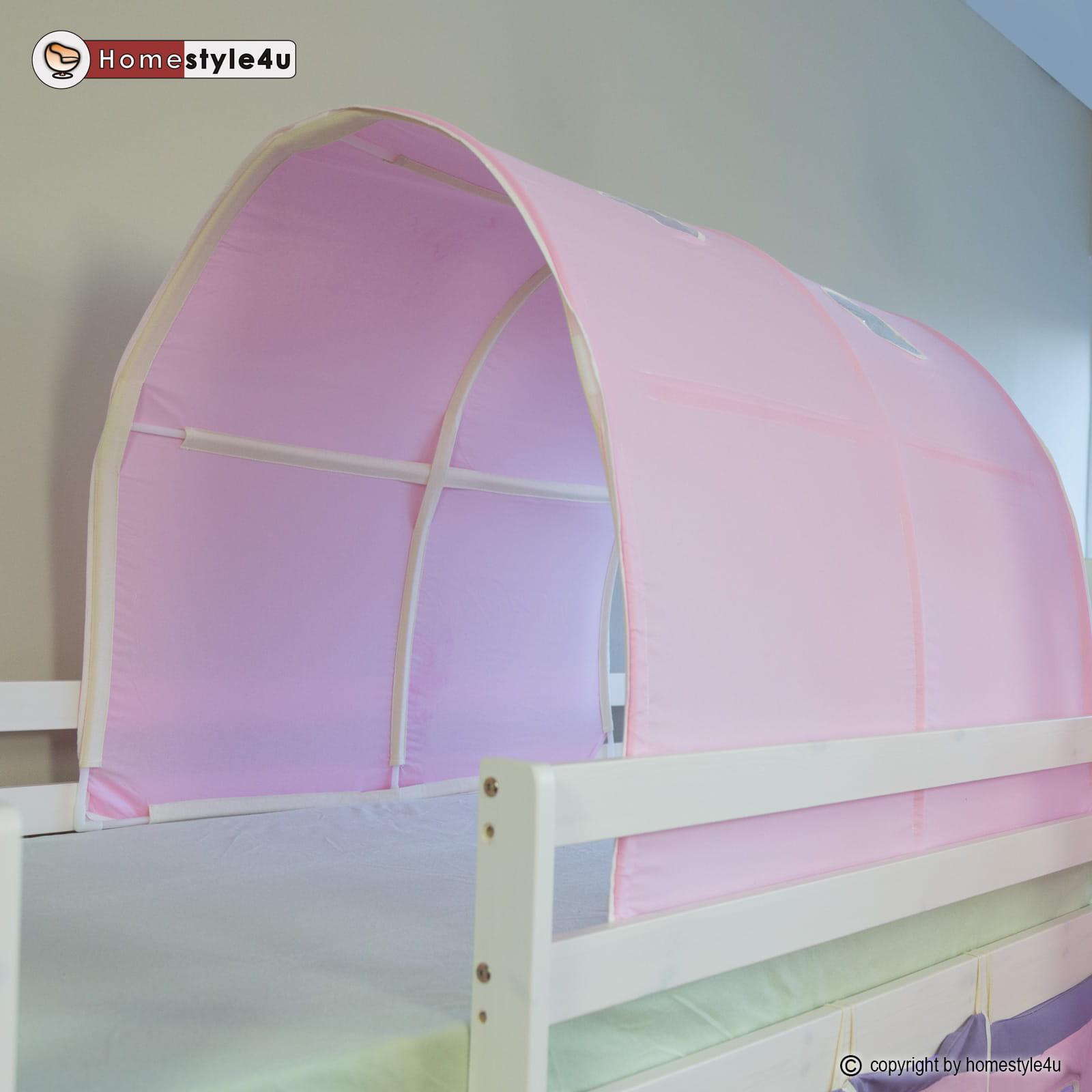 Tunel W Kolorze Różowym Tunel Na łóżko Dziecięce