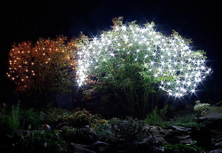 Lampki świąteczne Białe 160 Sztuk Zewnętrzne