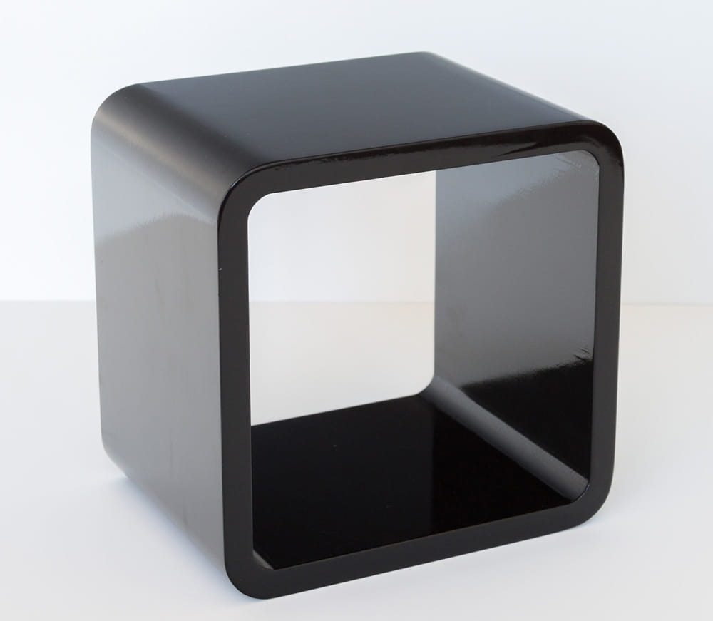 Półka Retro Cube Czarna