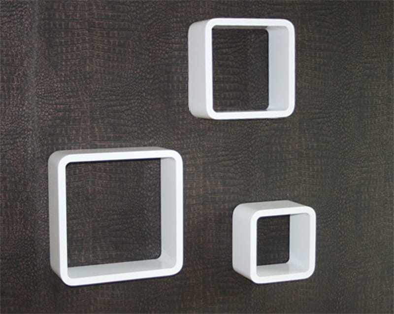 Półki Białe Naścienne 3szt