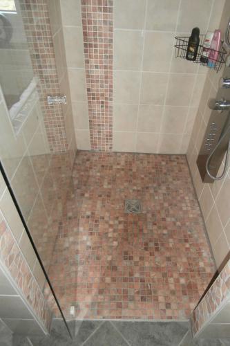 Mozaika Marmur 30x30 Cm Kafelek Czerwony Pastelowy