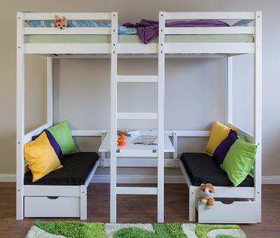 łóżko Piętrowe Dla Dzieci Z Biurkiem