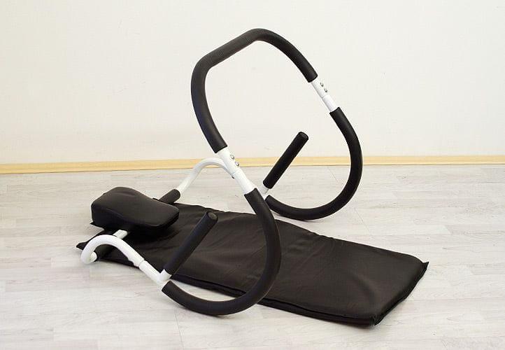 W Mega Urządzenie fitness do ćwiczeń mięśni brzucha z matą Abroller Ab EP52