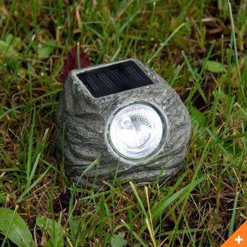 6szt Lampa Solarna Jak Kamień Lampa Ogrodowa
