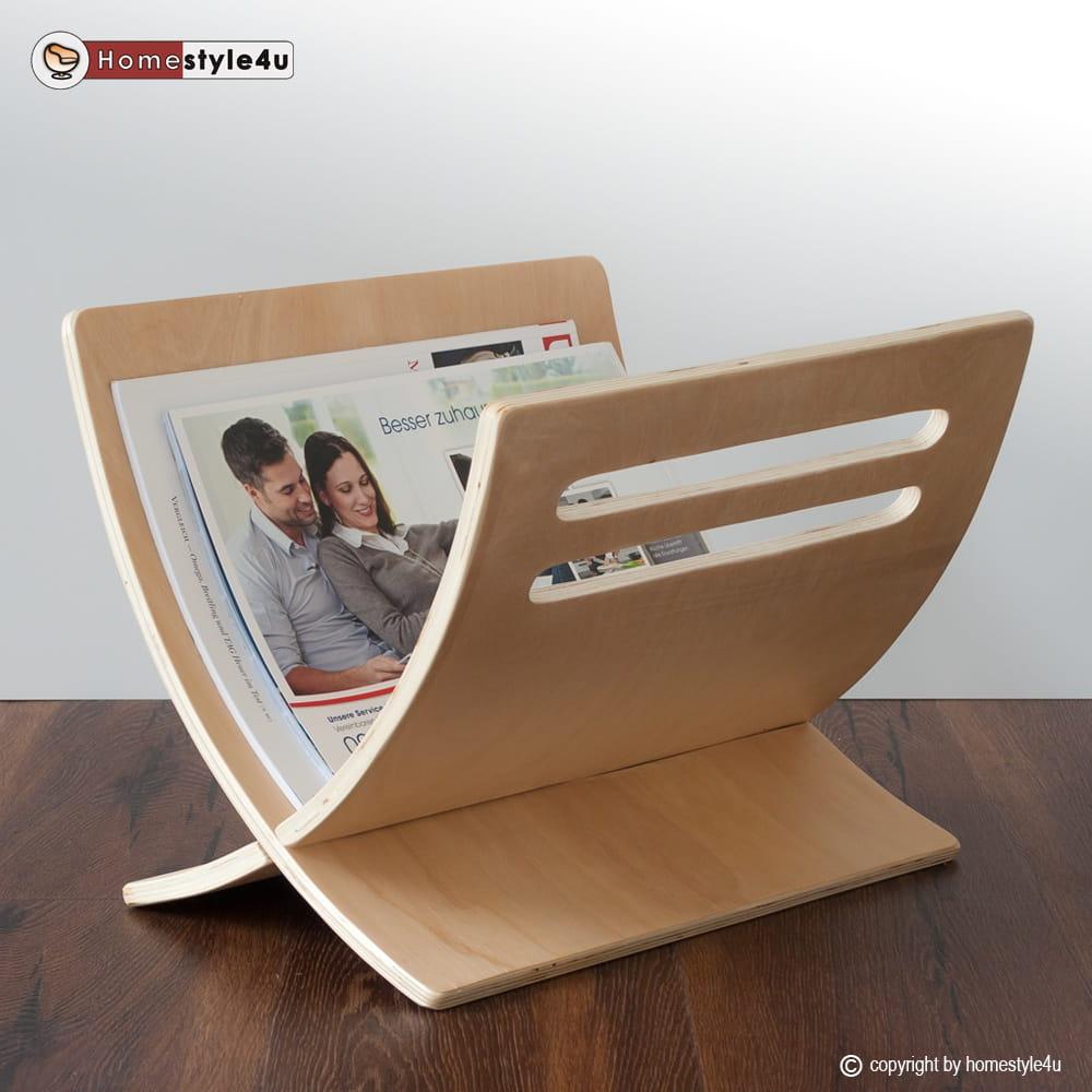 Niewiarygodnie Drewniany stojak na gazety gazetnik gazetownik - Sklep Internetowy TQ02